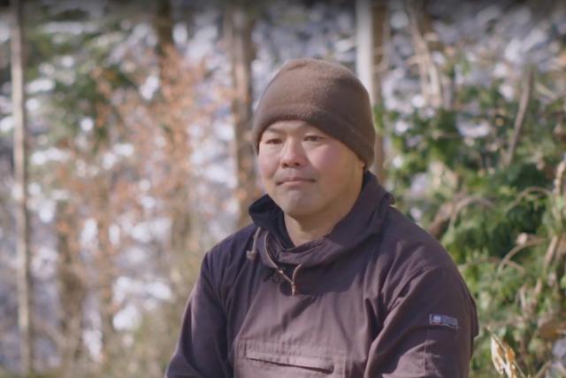 ヤマカ木材 山林部長の高須さん(写真=株式会社もりぞう)