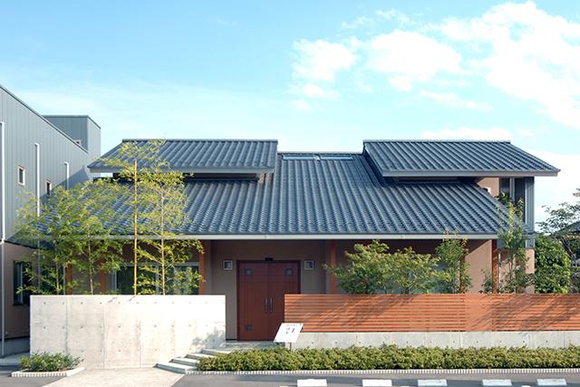 屋根のかたちに見る和のデザイン。和モダンな外観にこだわる注文住宅